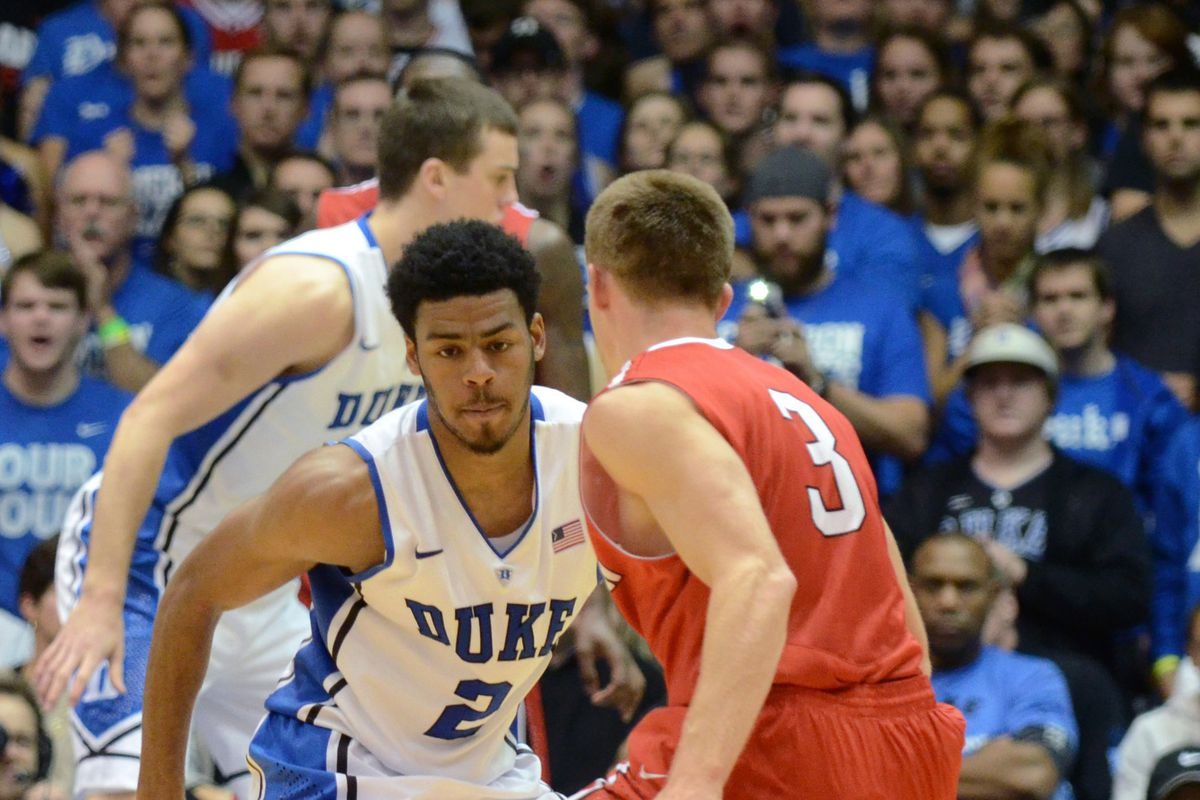 Quinn Cook was one of four Duke players to score 20 or more against Davidson