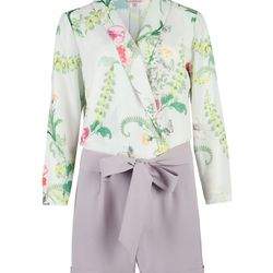 """Antiguo Wallpaper Playsuit, <a href=""""http://www.tedbaker-london.com/store/womens/wallpaper-playsuit-GT30-WS3W-ANTIGUO-37.html"""">$275</a>"""