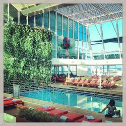 """#sscoachella #pool"" - <a href=""http://instagram.com/p/TbuvD-s1eH/"">@eyextension</a>"