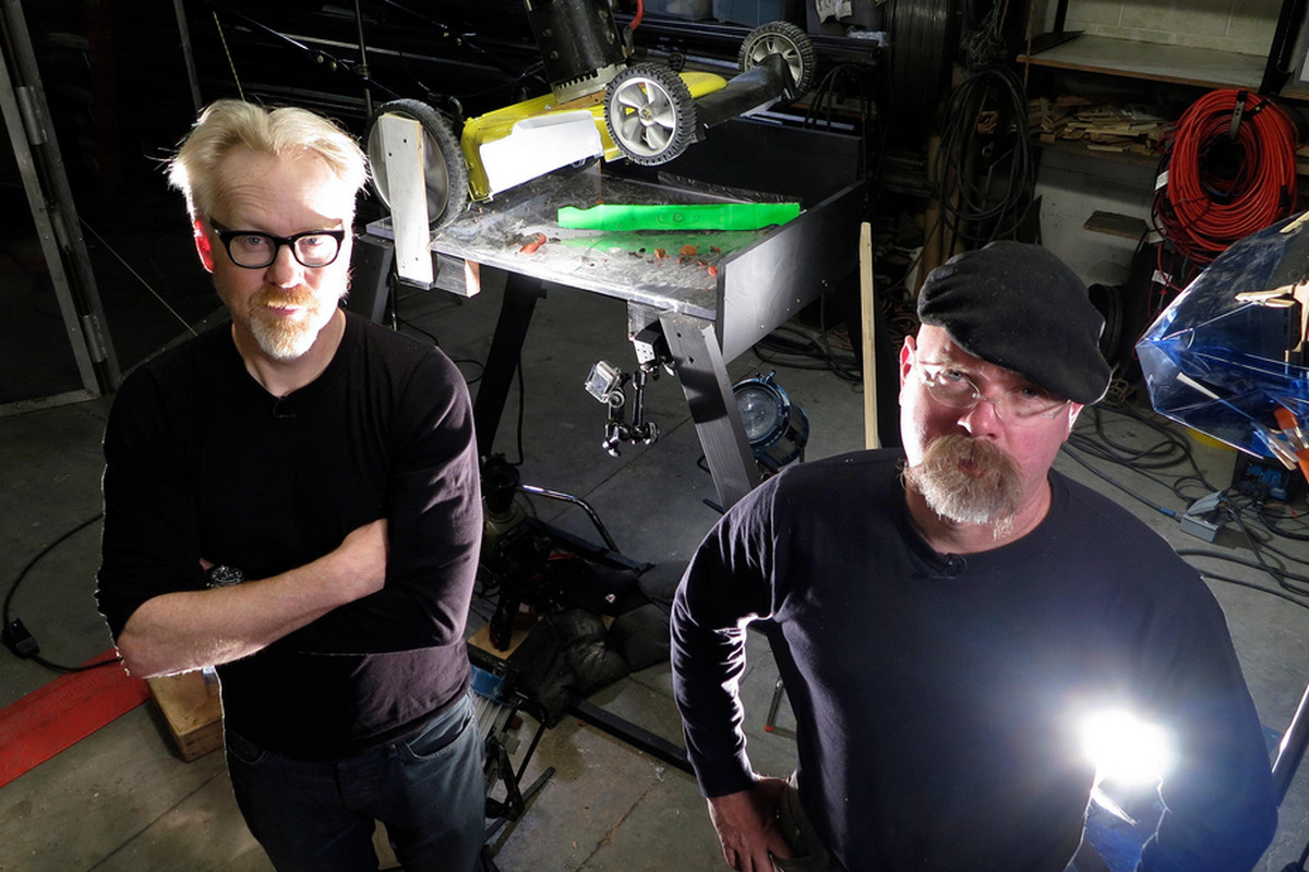 The Mythbusters always had an amazing secret weapon: They