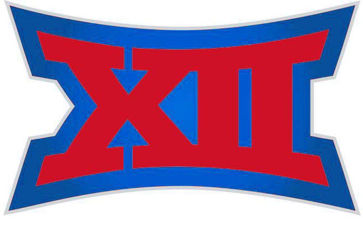 The Big 12 Logo in crimson & blue