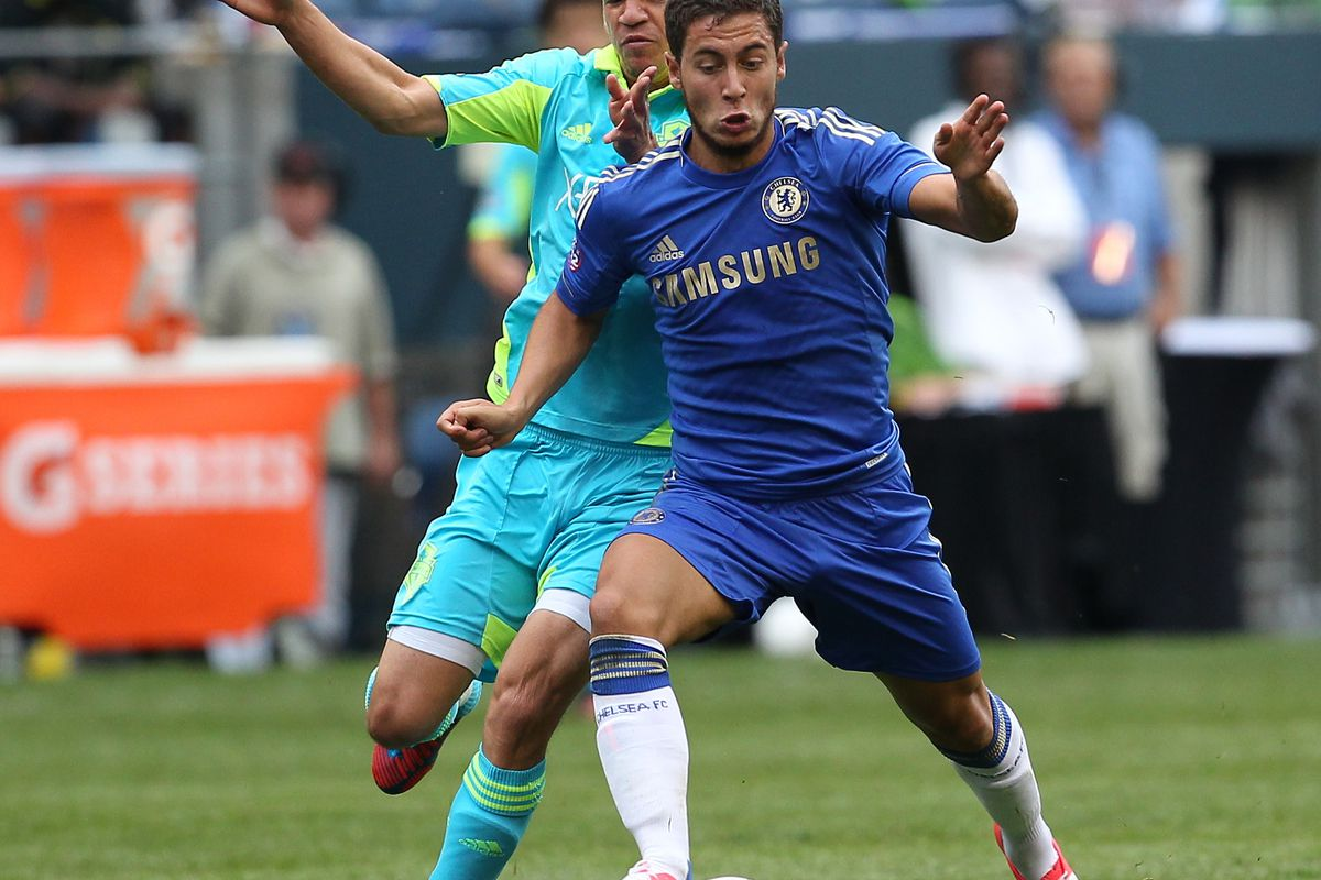 Will Hazard v the Honey Badger get a second round tonight. (Photo by Otto Greule Jr/Getty Images)
