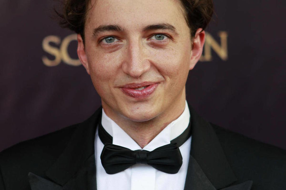 """FILE - This June 25, 2012 file photo shows Benh Zeitlin, director and co-writer of the movie """"Beasts of the Southern Wild,"""" arriving at the premiere of the movie at the Joy Theater in New Orleans. Zeitlin has been named the New Orleans Film Society's """"Cel"""