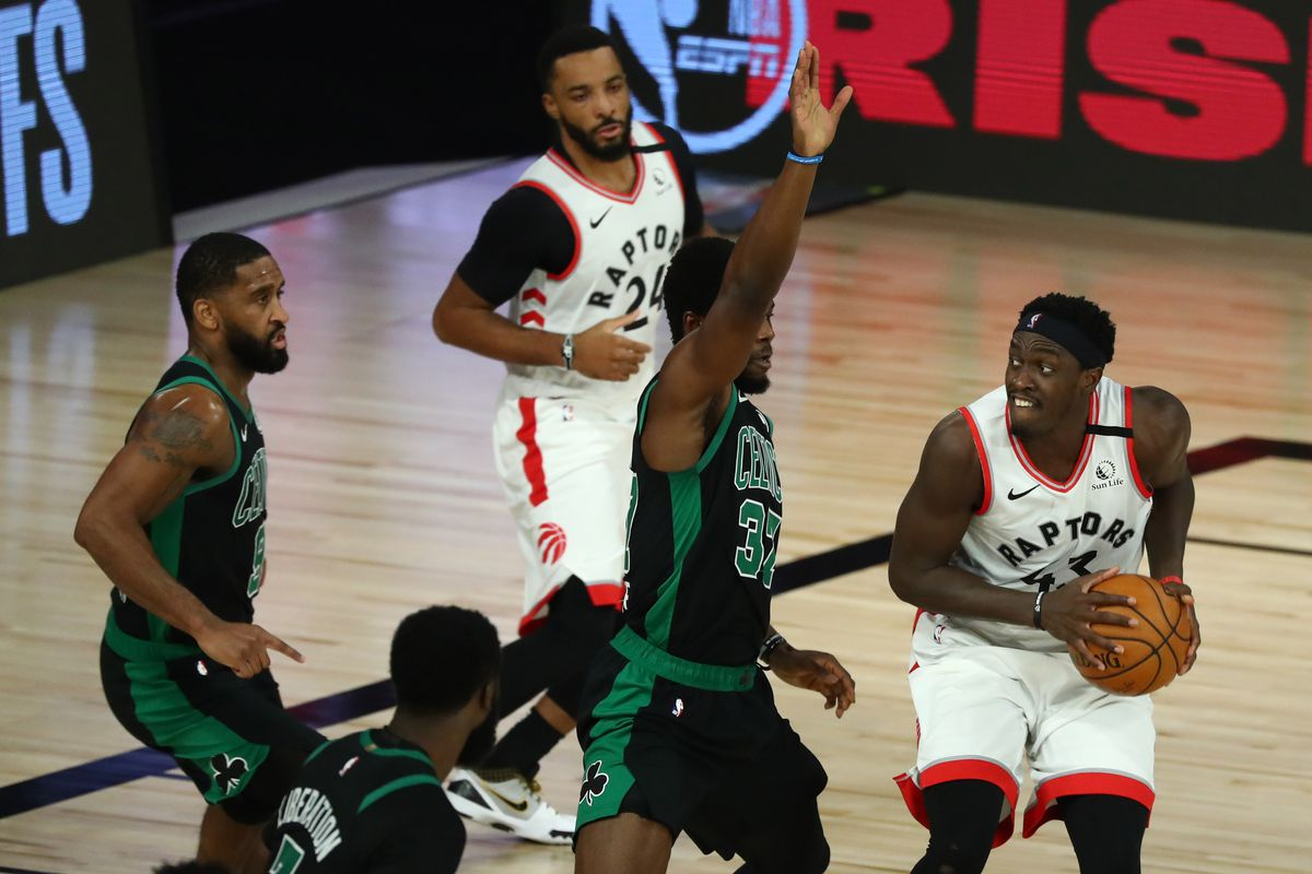 Celtics defense smothers Pascal Siakam in Game 1 blowout - CelticsBlog
