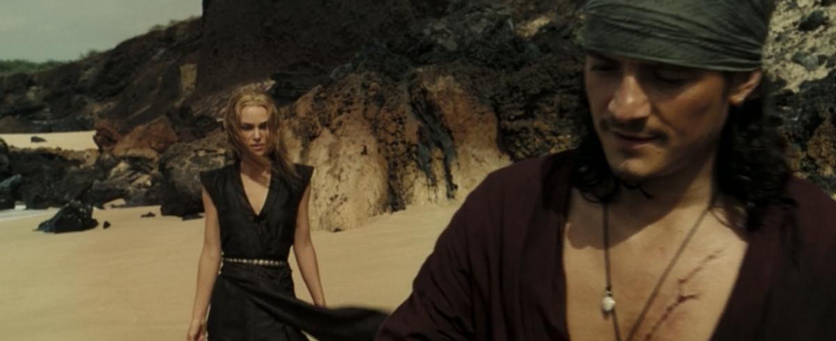 elizabeth in a black underdress shirt thing