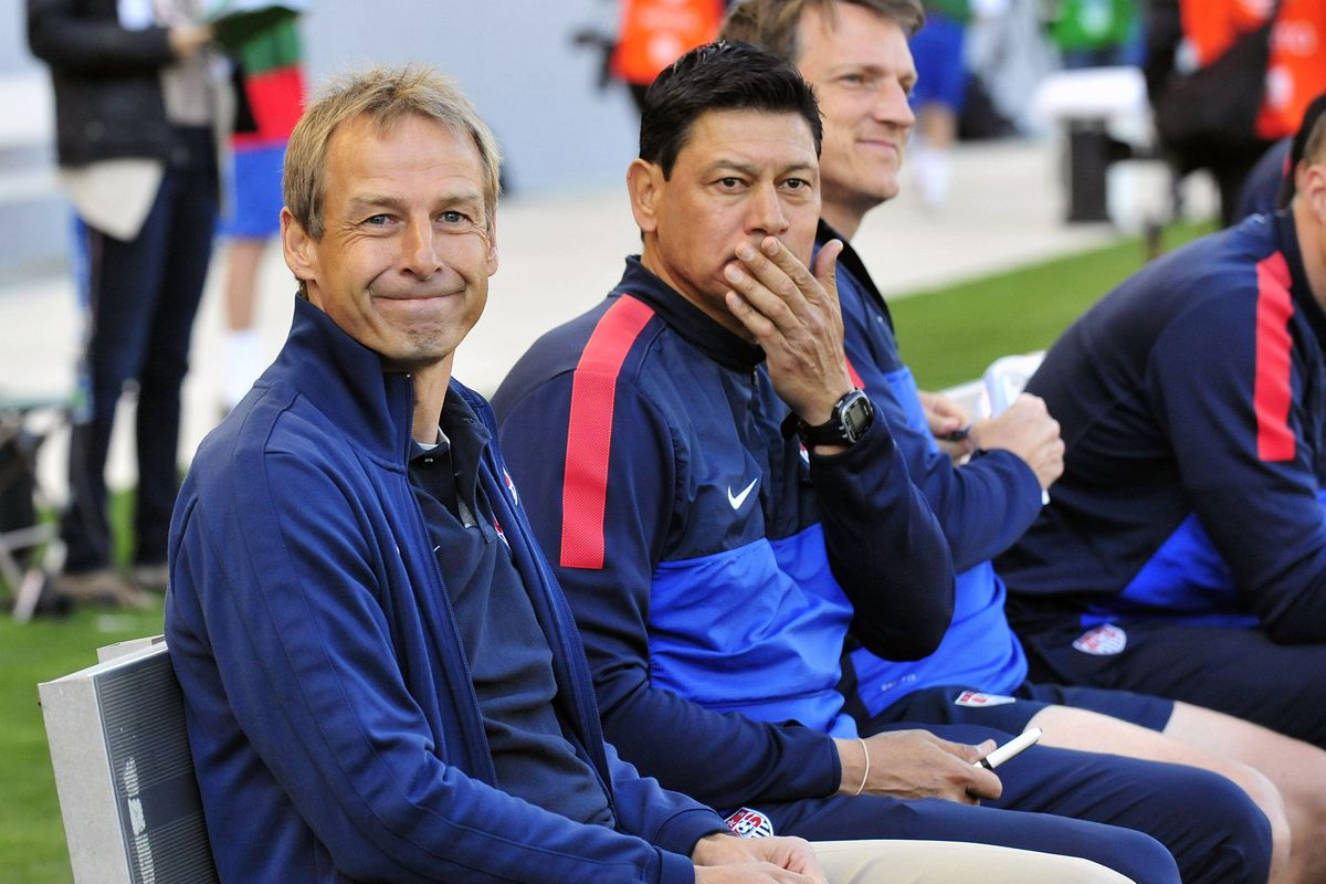 Jurgen Klinsmann is happy to tell you who he will be taking to camp.