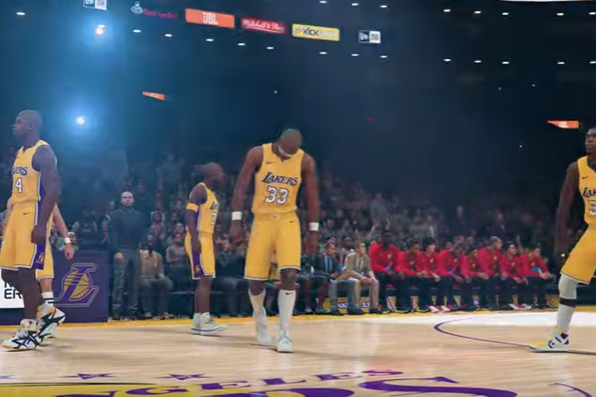NBA 2K released the Lakers All-Time roster and it is STACKED