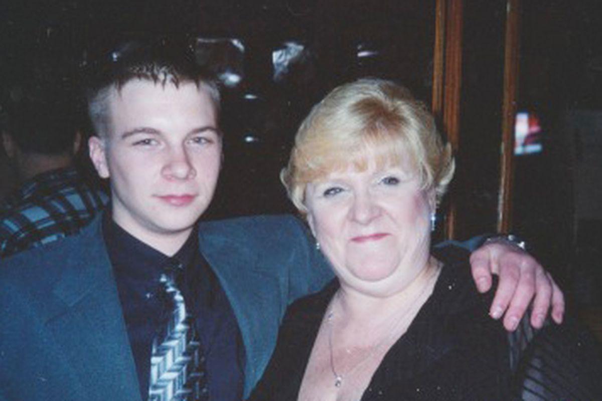 David Koschman with his mother Nanci Koschman.   Provided photo