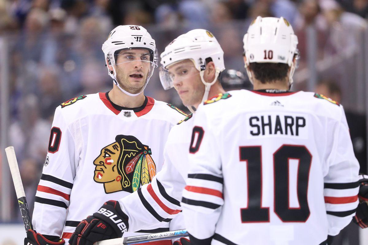 NHL: Chicago Blackhawks at Toronto Maple Leafs