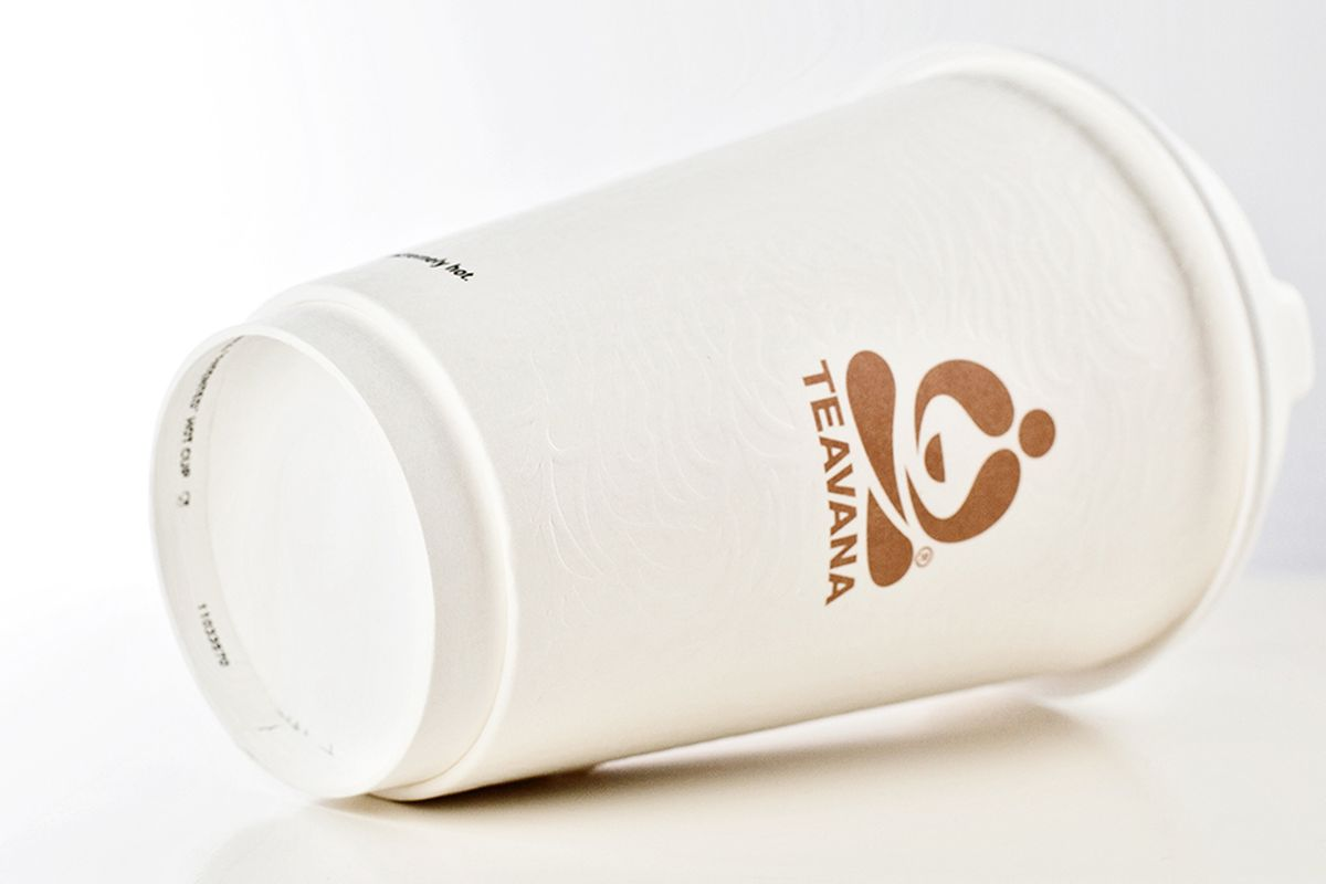 Teavana paper cup