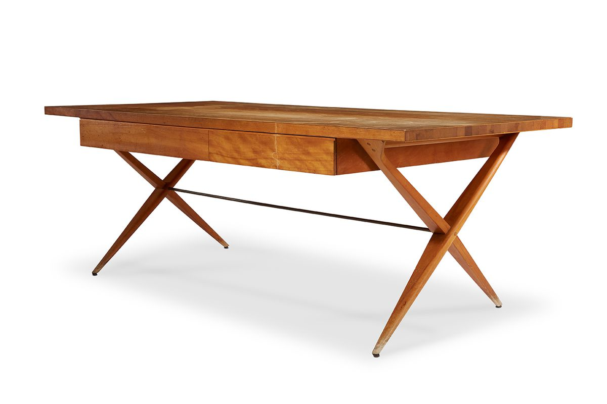 This Desk Was Designed By Louis Kahn For The Morton Weiss House Courtesy Of Freeman S