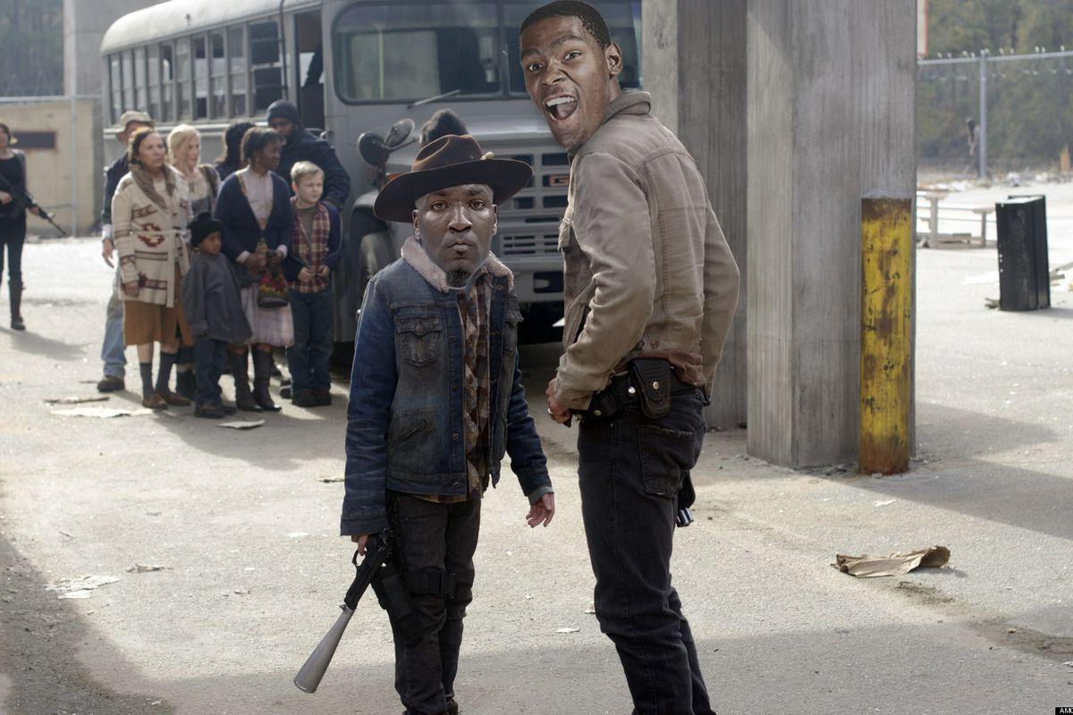 Walking Dead? Only mostly dead. Still slightly alive.