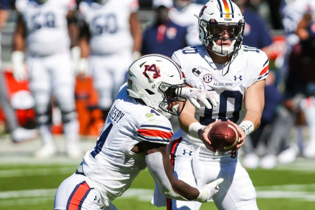 NCAA Football: Auburn at South Carolina
