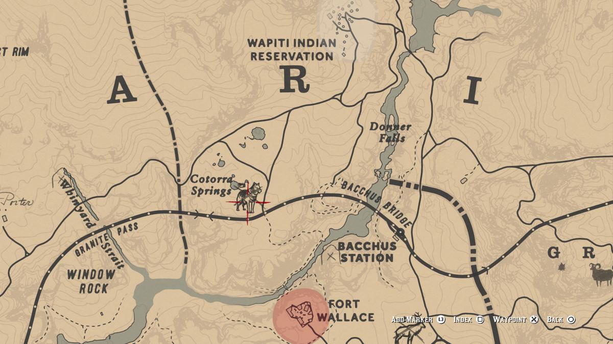Red Dead Redemption 2Legendary Wolf location