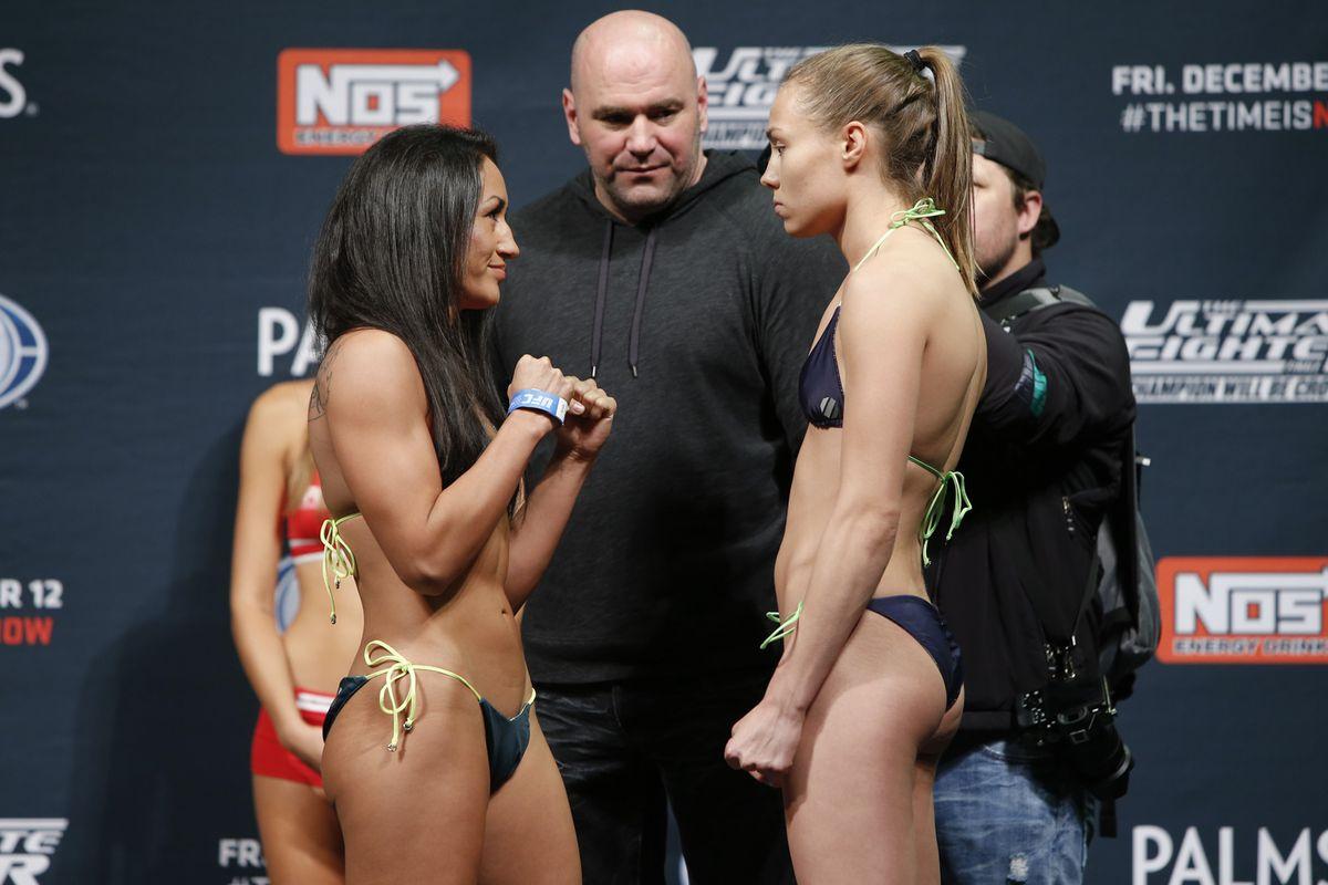 Angela Magana Nip Slip >> TUF 20 Finale Results: Esparza vs. Namajunas - MMA Fighting