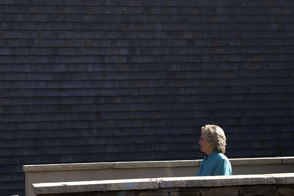 Hillary Clinton Campaigns Across California