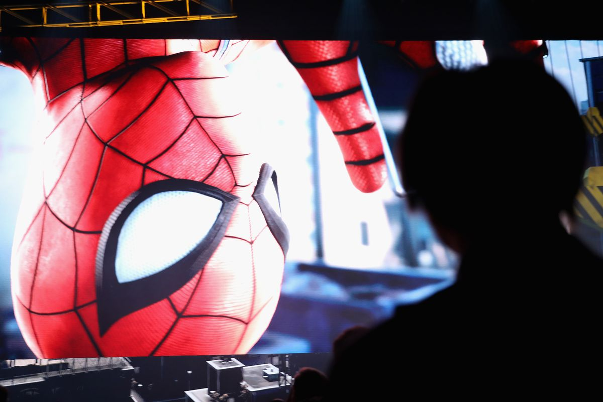 Sony PlayStation Event At E3 Conference - Spider-Man reveal