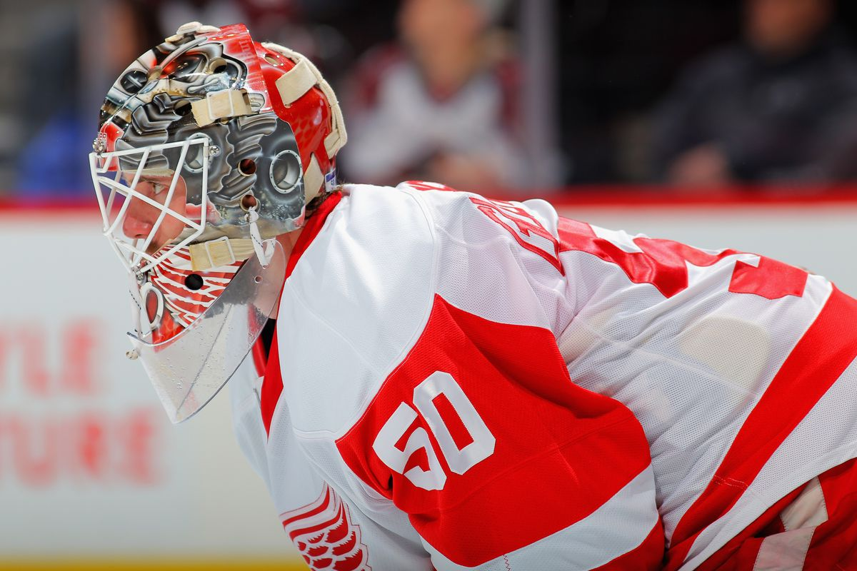 Notice how Kyle Quincey is not on the Monster's mask: your move, Jimmy.