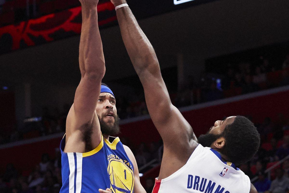 NBA: Golden State Warriors at Detroit Pistons