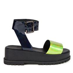 "UNIF Seeker Sandal, <a href=""http://unifclothing.com/shop-all-shoes/seeker-sandal"">$65</a> (orig. $165; more colors available)"
