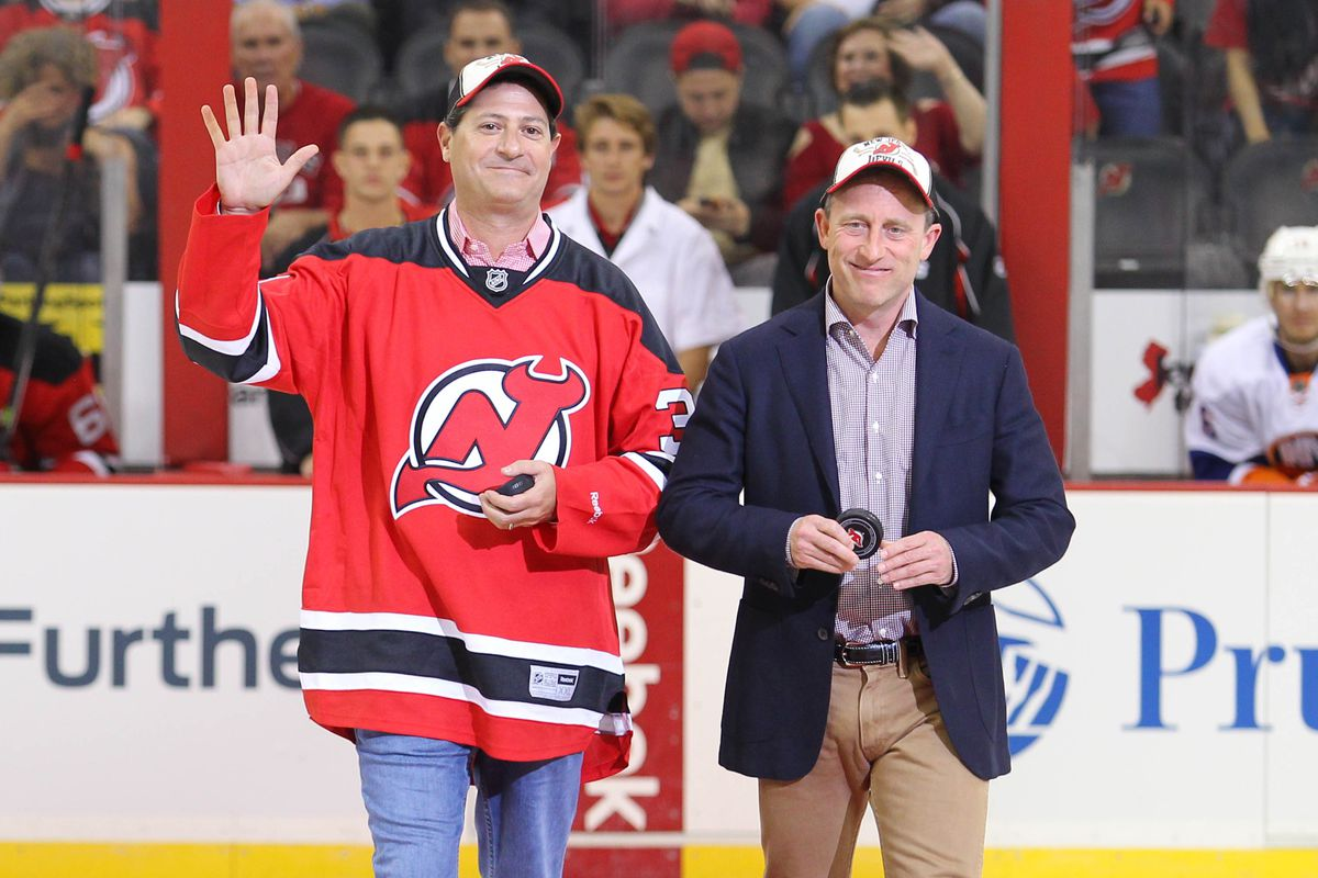Writer O's submission is the last for the 2014 ILWT Audition.  It's about the uncertainty looming for the Devils. With that in mind, here's a picture of the owners.