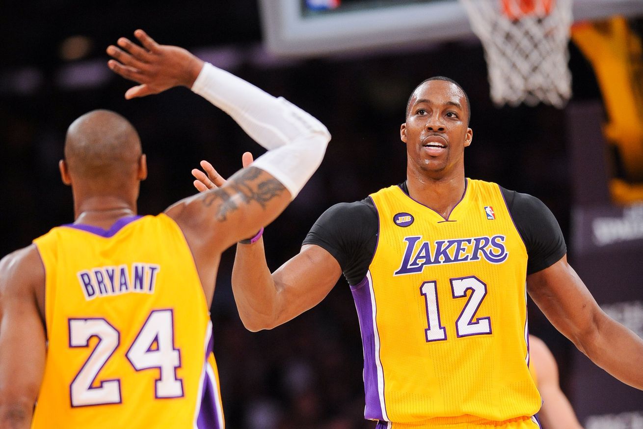 Dwight Howard said he wanted to inherit the Lakers from Kobe Bryant