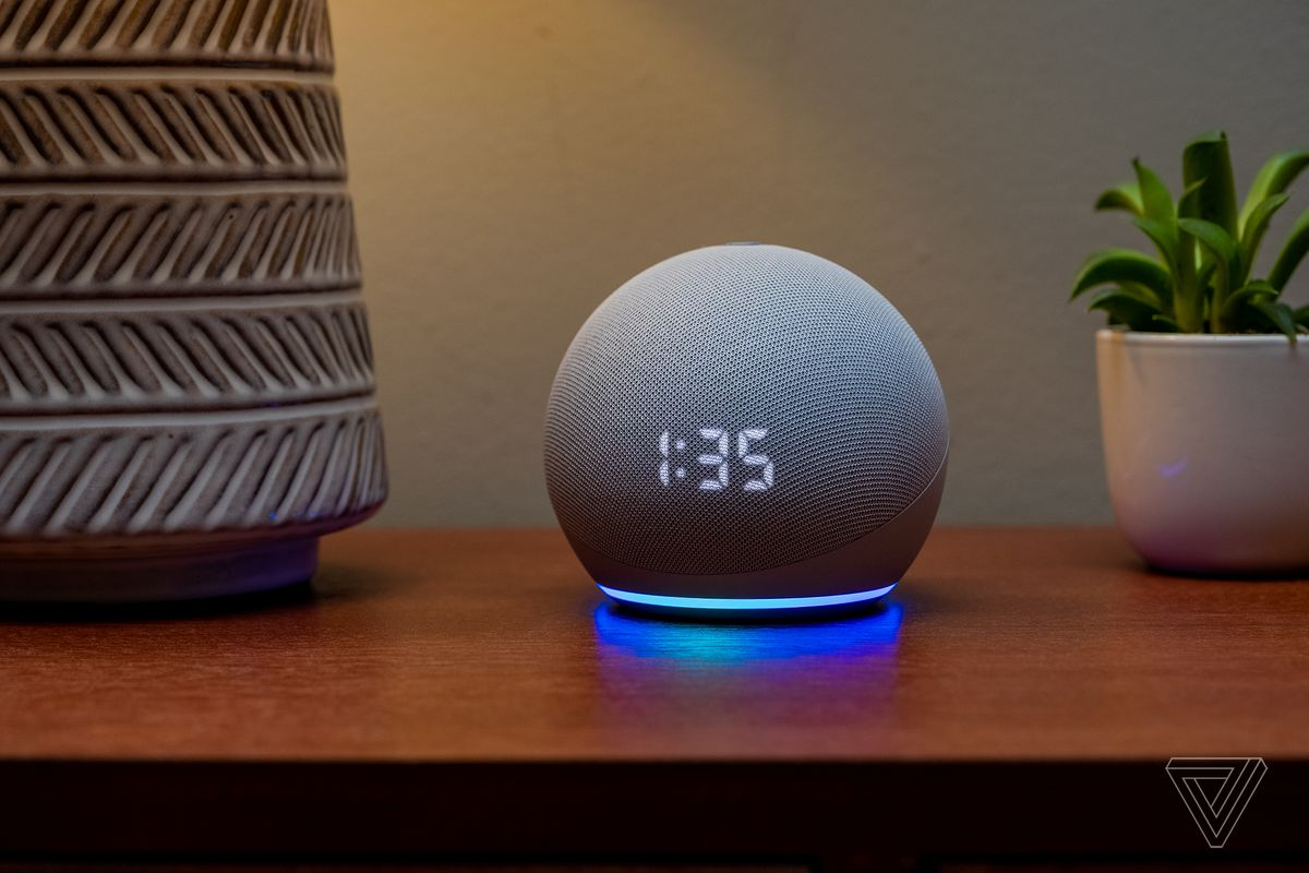 Amazon Echo Dot 4th Gen 2020 Review Have A Ball The Verge