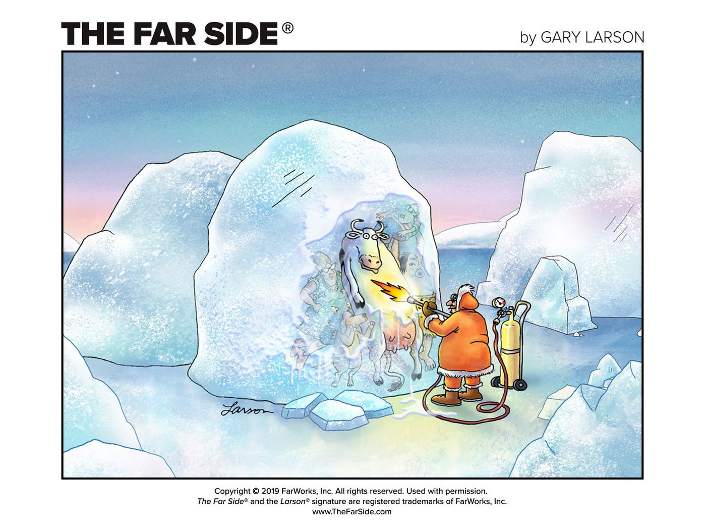 The Far Side Is Officially Online For The First Time With New Comics To Come The Verge