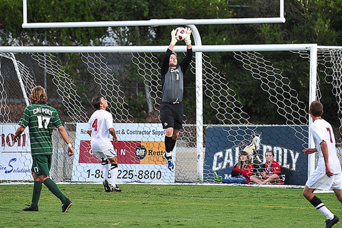 McLain on a short move - Big West Conference