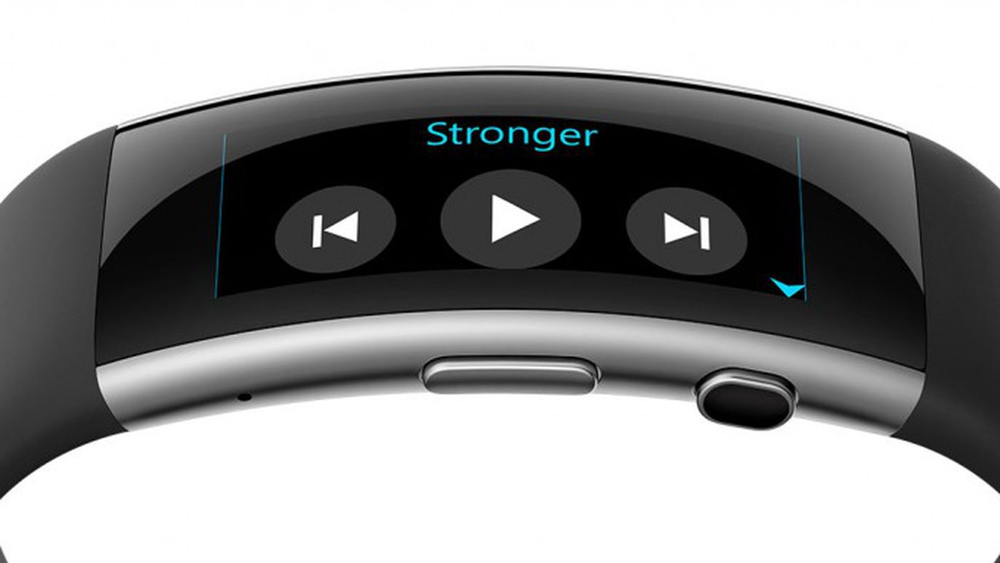 Microsoft Band update includes music controls and movement