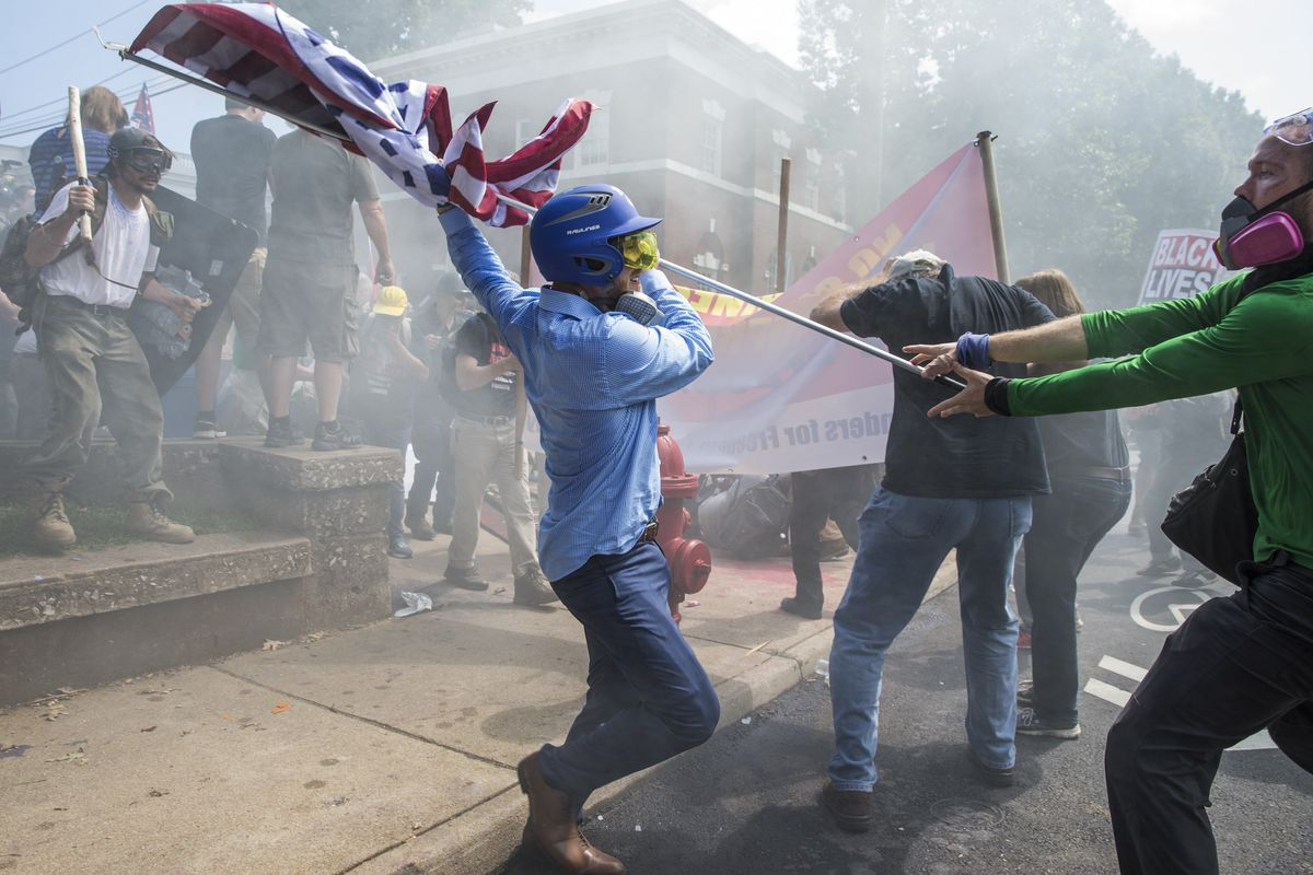 Charlottesville showed what a country breaking down along lines of partisanship and identity might look like.