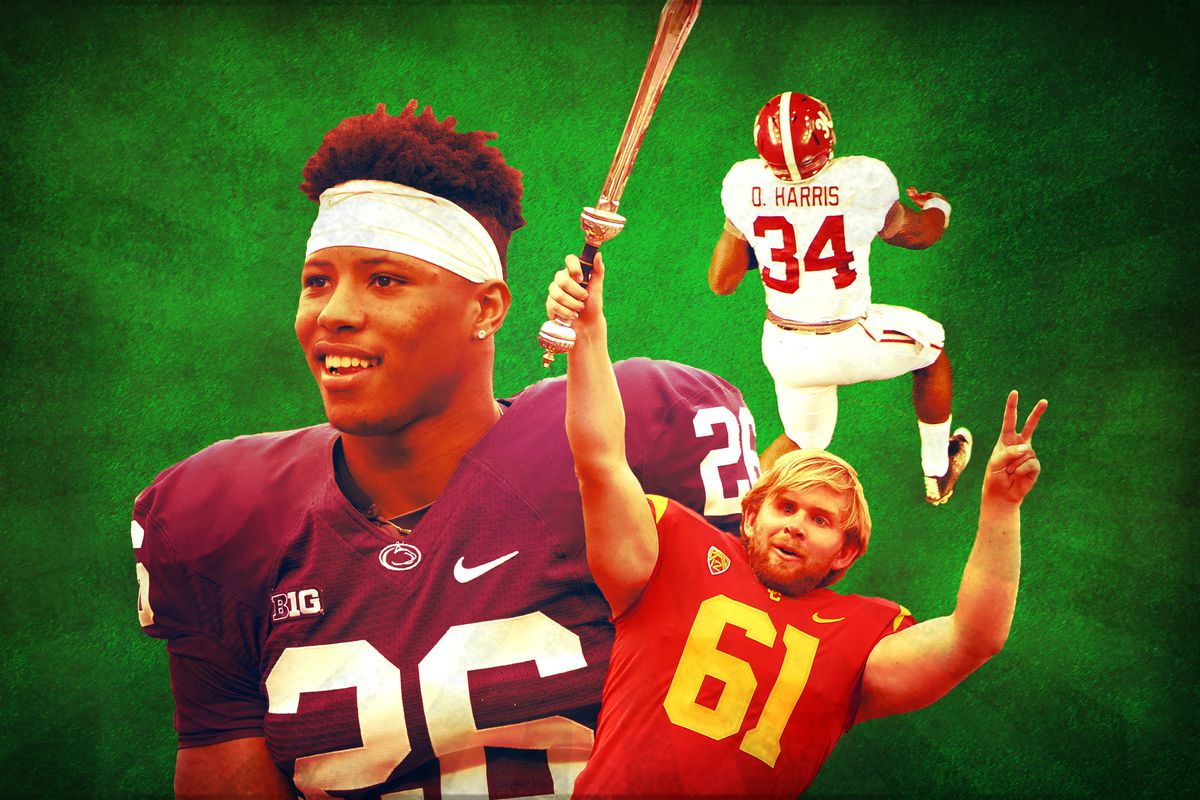 A college football collage