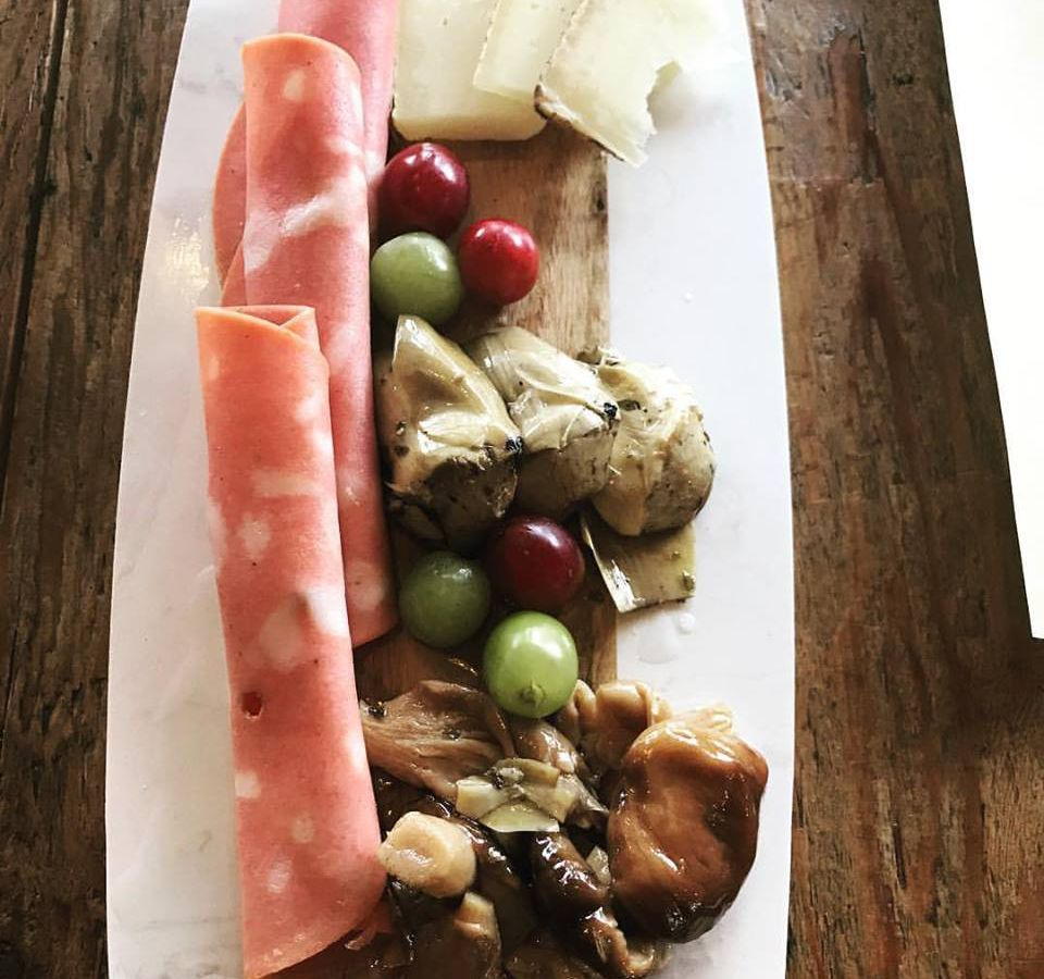 Charcuterie board at Chef Marc's Trattoria