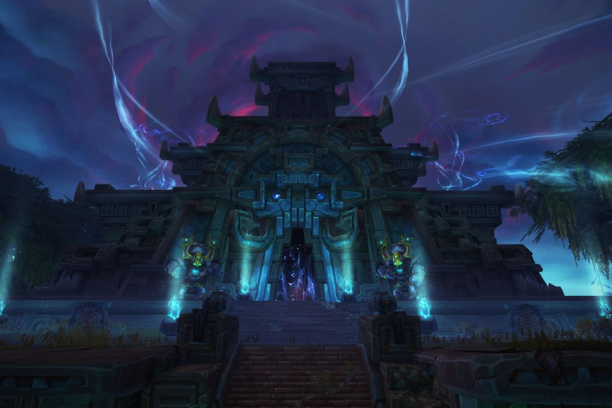 World Of Warcraft Battle For Azeroth S Horde Zones Are Some Of