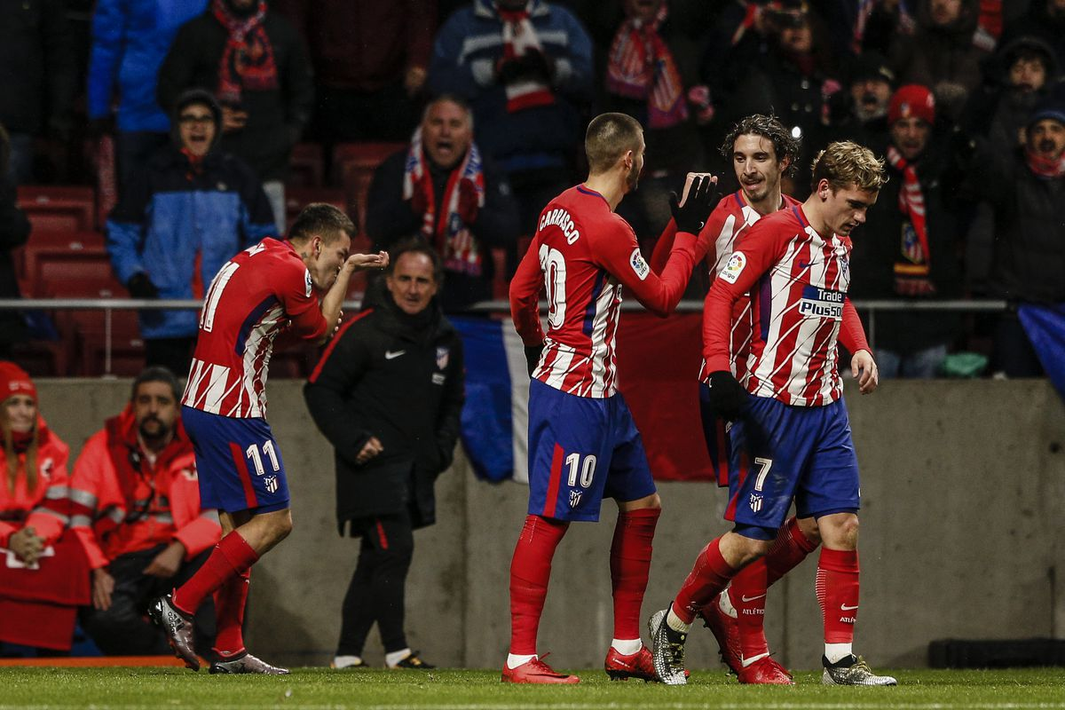 2018 La Liga Football Atletico Madrid v Valencia Feb 4th