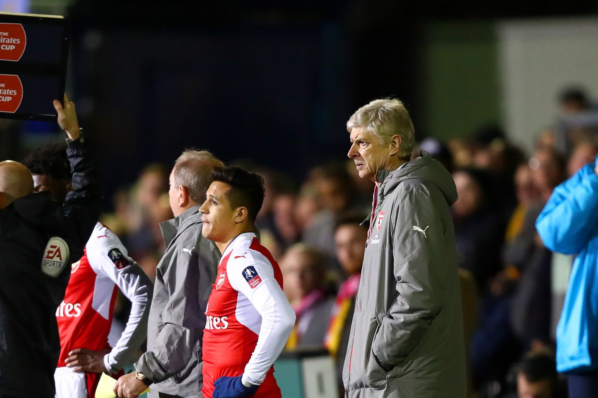 Sutton United v Arsenal - The Emirates FA Cup Fifth Round