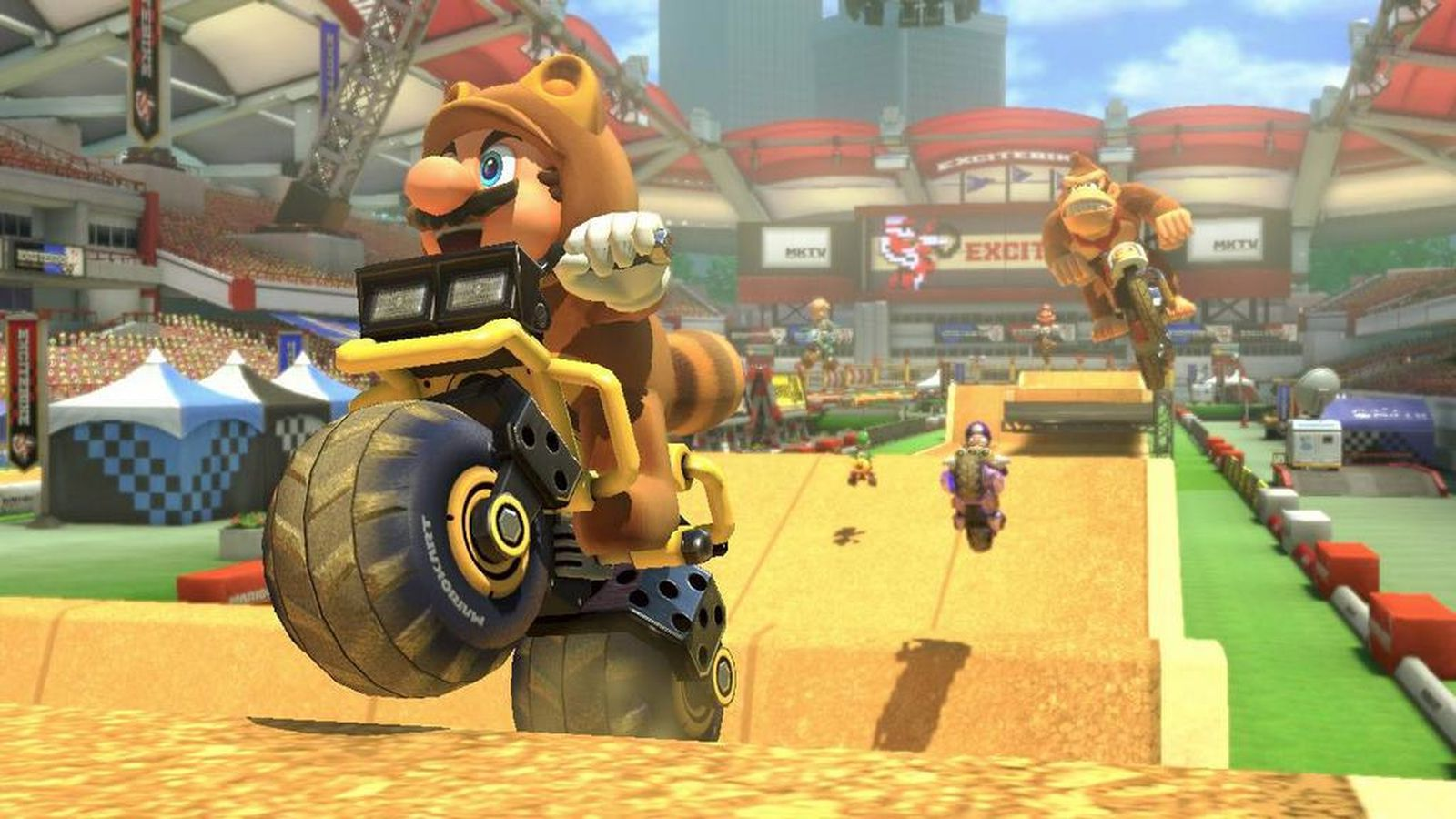 Check Out Mario Kart 8 S Tribute To Excitebike Polygon