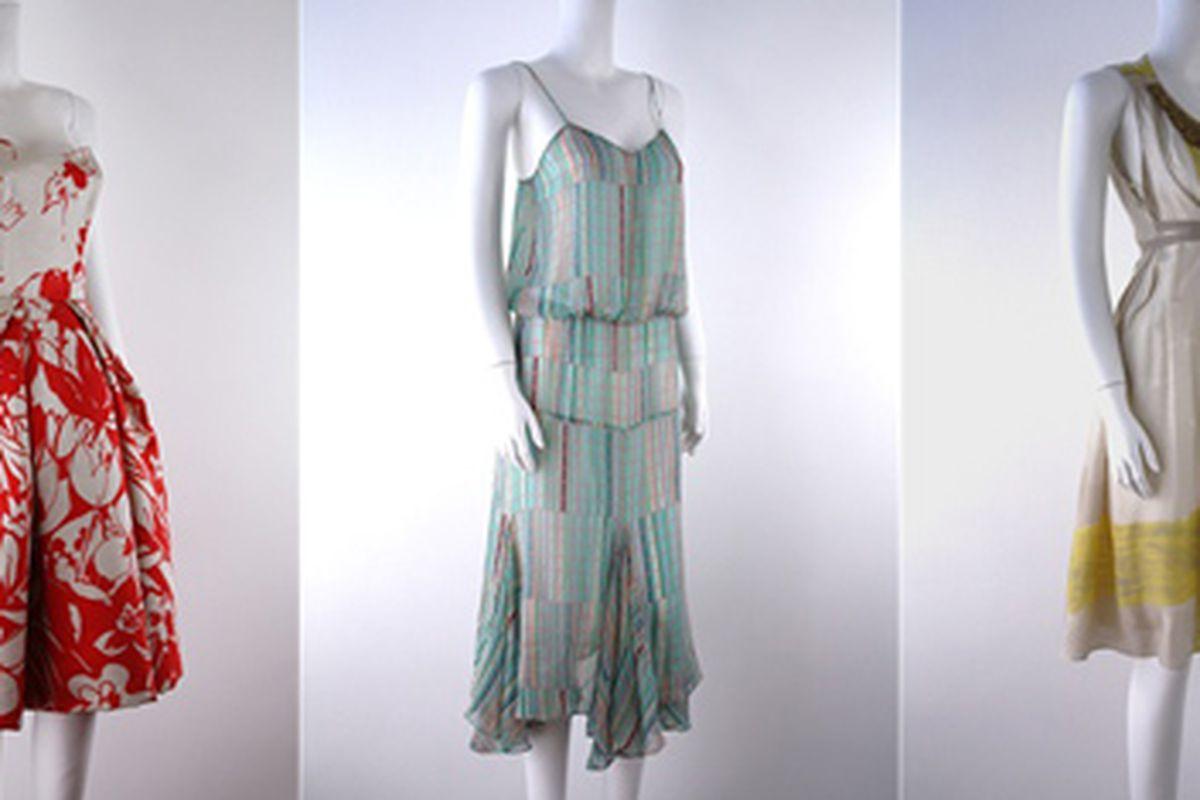 "Dresses from Carolina Herrera, DVF and Vera Wang via <a href=""http://www.weartodaygonetomorrow.com/S"">Wear Today Gone Tomorrow</a>"