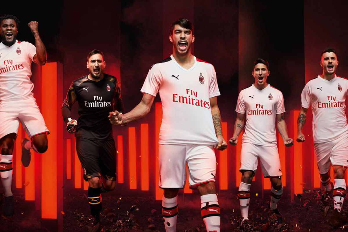 huge selection of f99a3 a1f0c Milan have their away new kit for the upcoming season - The ...