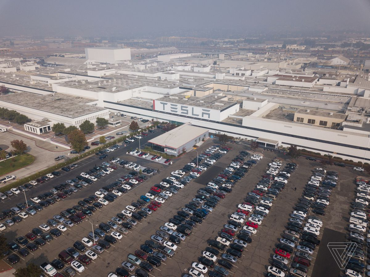 Tesla S Factory In Fremont California Photo By Becca Farsace The Verge