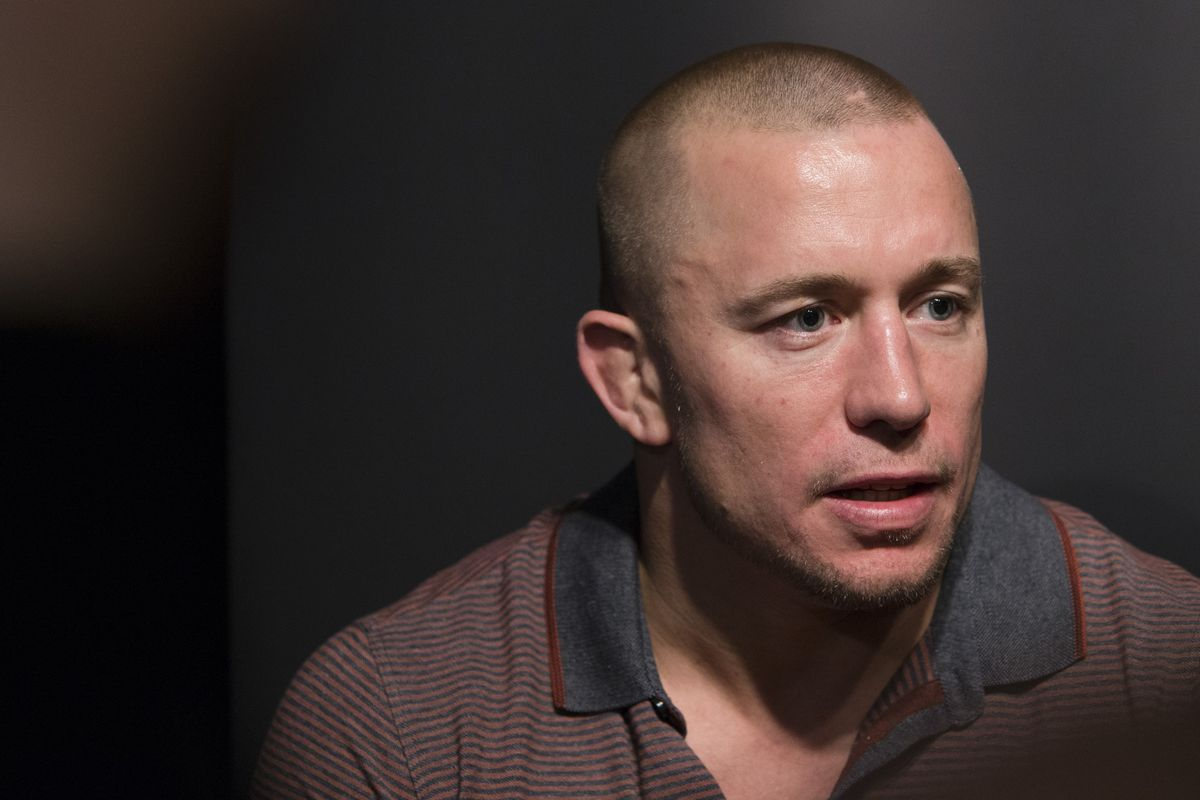 Eye injury derails Georges St-Pierre's UFC return