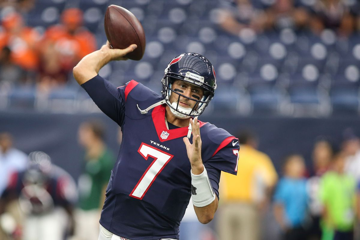 Will The Houston Texans Bench Brian Hoyer For Ryan Mallett After One Week Battle Red Blog