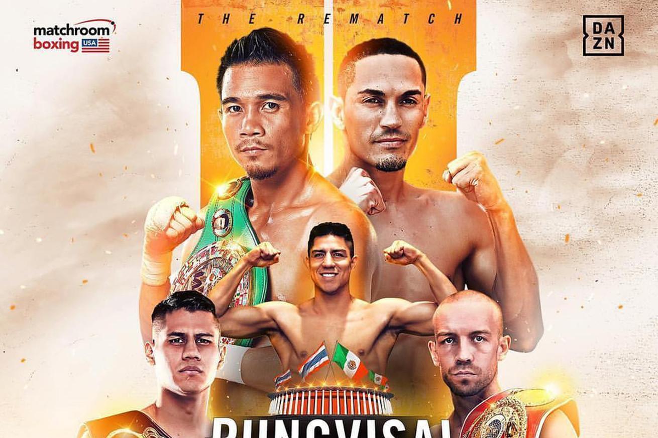 MatchroomRungvisaiEstrada2.0 - Rungvisai-Estrada 2: Weigh-in live coverage, 4 pm ET