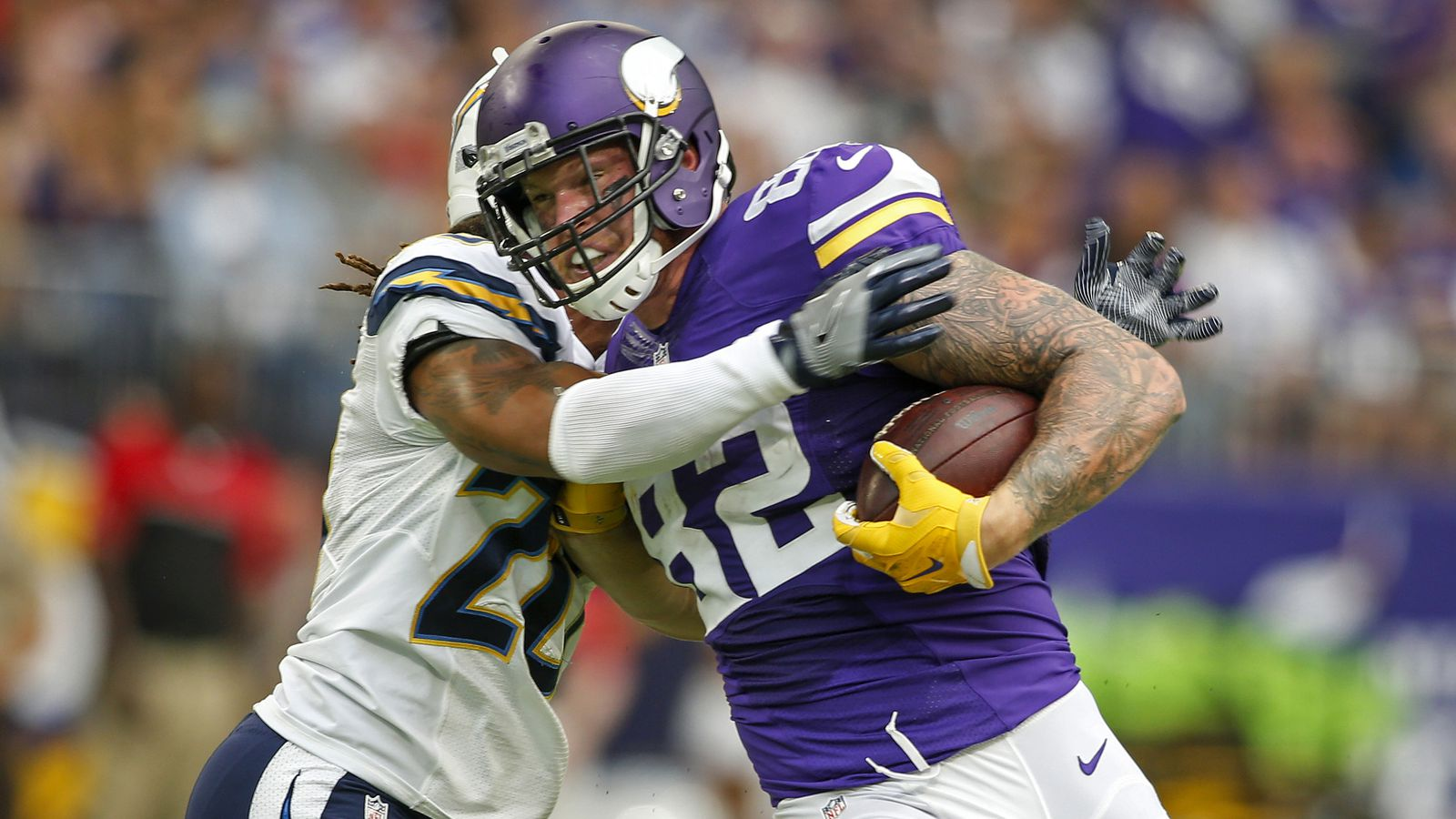 Chargers Vikings Final Score San Diego Chargers Lose To