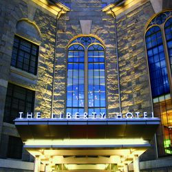 Entrance to the Liberty Hotel