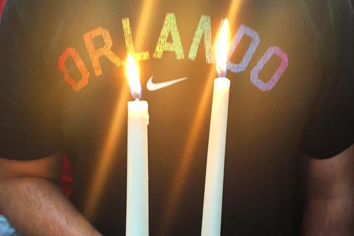 Vigil in Orlando for the shooting victims.