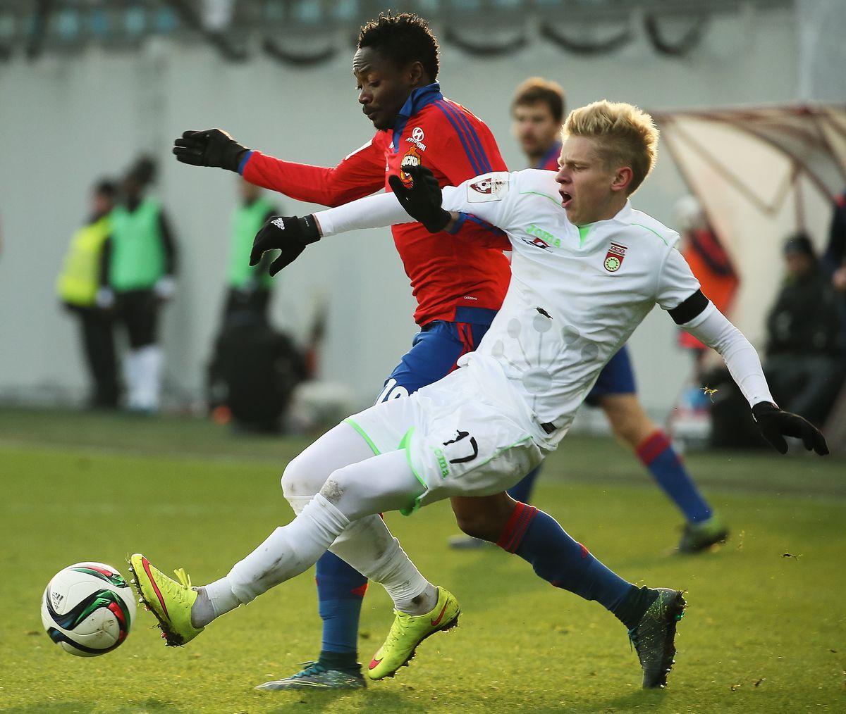 CSKA Moscow vs FC Ufa - Russian Premier League