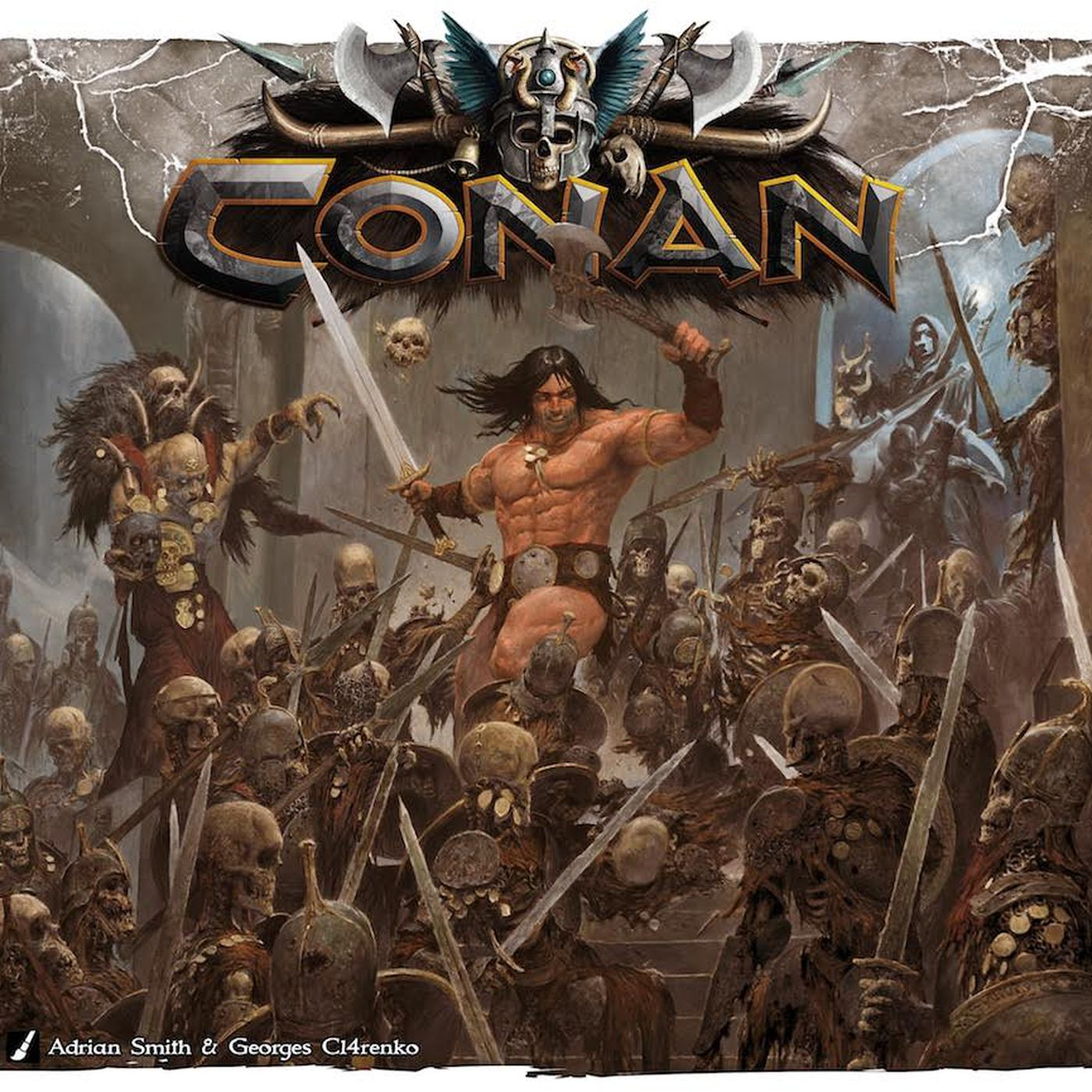How Conan The Barbarian comes to life in three new games