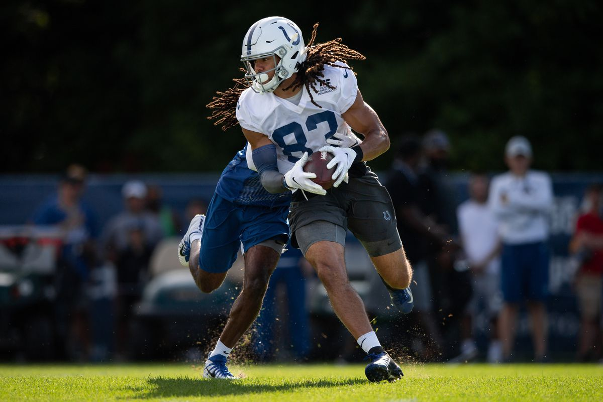 NFL: AUG 10 Colts Training Camp