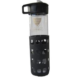 Beverly Hills Centennial glass water bottle, $20.